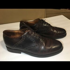 Johnston & Murphy Brown Leather Shoes size 10.5